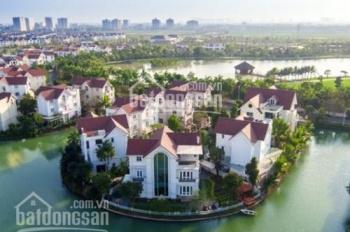 Bán căn BT đơn lập 620m2 Vinhomes Riverside, đã hoàn thiện, sân vườn rất rộng, ngã 3 sông