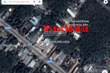 Đất nền sổ đỏ, Hưng Hòa, Bàu Bàng, Bình Dương. Diện tích 678m2, thổ cư 300m, giá chỉ 2 tỷ 6