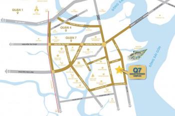 CH Nam Sài Gòn (Q7 Saigon Riverside) MT Đào Trí view sông Sài Gòn với 1,7tỷ/căn/2PN. LH: 0909351549