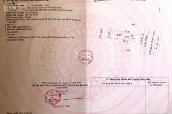 Đất nền Lái Thiêu, Thuận An, khu vực dân cư đông đúc gần chợ, siêu thị, bệnh viện, 0909724179