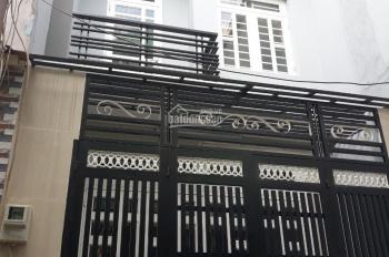 Bán nhà 1 trệt, 2 lầu, sân thương 140m2 đường Hương Lộ 2, giá 2.3 tỷ, SHR