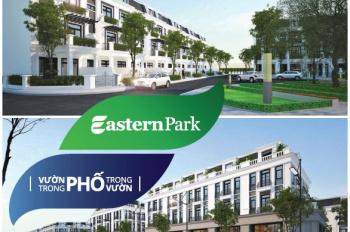 Eastern Park - nhà phố shophouse trung tâm quận Long Biên giá chỉ từ 42tr/m2. LH 0397696789