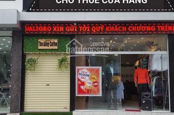 Cho thuê cửa hàng mặt phố Vũ Phạm Hàm. Diện tích 110m2, MT 6m, giá 45tr/th
