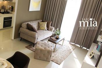 Chính chủ tôi cần bán gấp căn Sài Gòn Mia khu Trung Sơn 2pn, 2wc, giá 1 tỷ 950 - LH 0938808890
