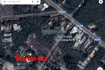 Đất nền giá rẻ xã Hưng Hòa, huyện Bàu Bàng. Cách khu công nghiệp Tân Bình, Bắc Tân Uyên 300m, 1tỷ8