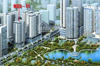 CC cần bán gấp CHCC tại Ngoại Giao Đoàn, 3 PN, view hồ, DT 95m2 giá 2,6tỷ tại tòa N03T1. 0816094198