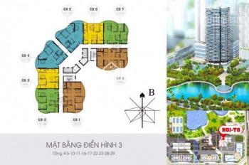 Bán căn hộ 2208 chung cư N01-T8 Ngoại Giao Đoàn, 136m2, 4 PN, ban công Đông Nam, vào tên trực tiếp