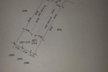 Cần tiền bán nhanh lô đất Phú An, Bến Cát, Bình Dương, đất đẹp, giá đầu tư, LH: 0984.316.716