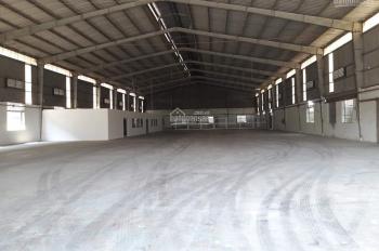 Cần cho thuê nhà xưởng 1800m2 xa dân cư SX cho các ngành nghề CN nặng tại Bùi Công Trừng, Hóc Môn