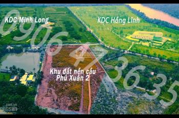 Bán 97 nền đất xây dựng tự do tại cầu Phú Xuân 2, thị trấn Nhà Bè, giá chỉ 31tr/m2 rẻ nhất khu vực