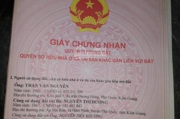 Bán nền mặt tiền đường Cửa Cạn, Suối Cái Phú Quốc, Kiên Giang