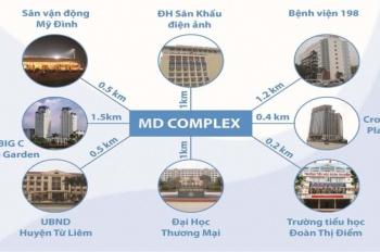 Chính chủ bán căn hộ chung cư MD Complex, DT 94m2, full nội thất, LH 0947587799