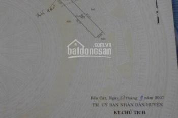 Bán đất Phú An, Bến Cát, Bình Dương, đường DH609, 10x50.506m2, giá 2.7 tỷ. 0922.217.117
