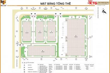 Nhà xưởng cho thuê tại KCN Yên Phong - Bắc Ninh DT 2000-5000-10000-20000m2 từ KTG Industrial