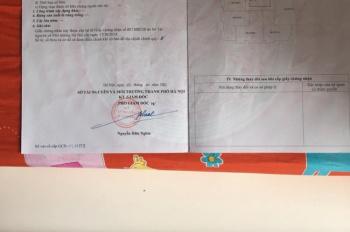 Chính chủ cần bán CHCC số 16 trong chung cư 7 tầng tại ngõ 198 Trần Cung. LH 0986560991