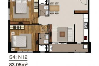Hot! Khách kẹt tiền bán gấp căn Saigon Mia, view Q1, S=83m2, tầng 15, giá HĐ, LH: 0901018696