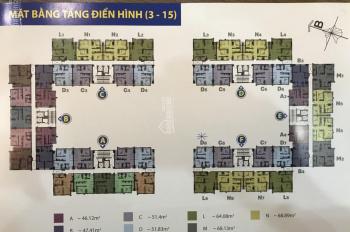 Bán căn hộ của dự án 35 Hồ Học Lãm, giá 1.4tỷ căn 56m2, mới nhận nhà ký HĐ với HOF, LH 0909456158