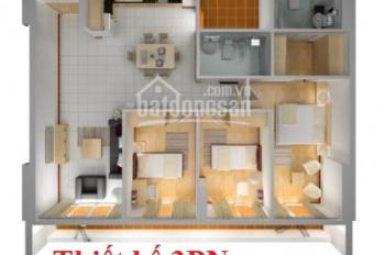 Tôi cần bán căn hộ 3PN (117,5m2), tòa VP2 bán đảo Linh Đàm, ban công hướng Nam nhìn hồ