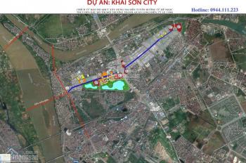 Mua Shophouse Khai Sơn City Long Biên chiết khấu lên đến 15%, LH: 0944111223