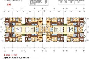 Bán CC Lạc Hồng Lotus 2-Ngoại Giao Đoàn,4PN(133m2),3PN(95m2),giá từ 26tr/m2,0366791956/0966316153