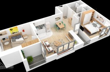 Cần bán căn hộ 3PN, 132m2, chỉ 3.86 tỷ, nội thất cao cấp trung tâm Mỹ Đình. LH: 0977.696.528