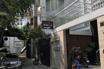 Cho thuê nhà 199/8 Hoàng Văn Thụ, P. 8, Q. Phú Nhuận, 9 x 25m (nở hậu 15m); Hầm + trệt + 2 lầu