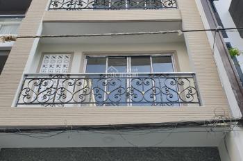 Nhà cho thuê nhà 1 trệt 3 lầu ở hẻm 25 Cửu Long, P. 2, Q. Tân Bình