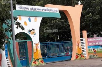 Lô vip tái định cư xã Phước Khánh, huyện Nhơn Trạch đầu tư đón cầu Cát Lái, ngay trường học