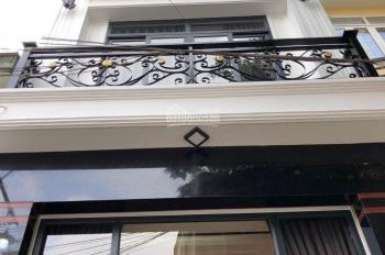 Nhà phố Kiều Đàm Q7, DT: 4x10m thiết kế 2 lầu sân thượng
