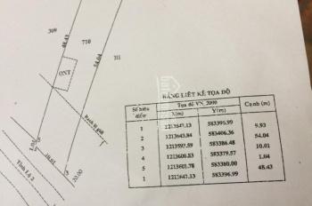 Mặt tiền Hương Lộ 2, 10mx50m, gần chợ Việt Kiều, hiện đang cho thuê 5tr/th, LH ngay 0989767969
