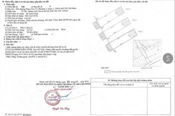 Bán nhà hẻm đường Phan Văn Trị. Lh 0945255678