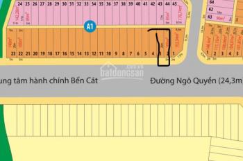 Cần bán gấp lô đất kế góc tại dự án Golden City 2, view sông, MT đường Ngô Quyền. Chỉ 620tr