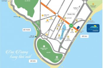 Hot bán gấp căn hộ Mermaid Seaview, TP. Vũng Tàu, căn góc, view biển, DT: 71.5m2. Giá: 2.836 tỷ