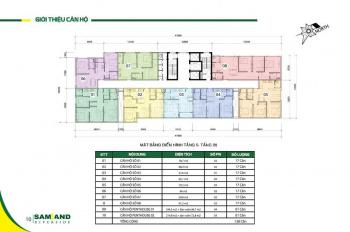 Chính chủ bán căn hộ Samland Riverside, Bình Thạnh, 2PN, 66m2; 3PN 79m2, 0907 036 794