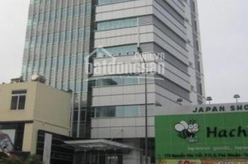Cho thuê văn phòng Quận Phú Nhuận Lutaco Tower đường Nguyễn Văn Trỗi, 55m2, 23 triệu, bao điện lạnh