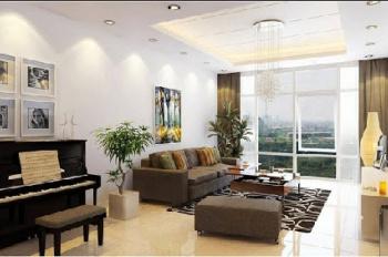 Căn hộ Happy Valley, 135m2, 5,2 tỷ, nhà hoàn thiện đẹp, góc view hồ Bán Nguyệt lầu cao cực đẹp