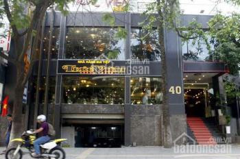 Nhà mặt phố 40 Trần Duy Hưng (hiếm nhất) 500m2x 3 tầng, mặt tiền 17m đẹp, nhà góc, hầm xe rộng