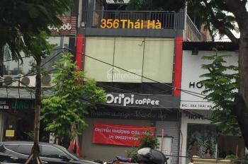 Nhà mặt phố 356 Thái Hà, 75m2 x 3 tầng, mặt tiền 5.5m, vỉa hè rộng, đỗ xe thoải mái. 0976.075.019