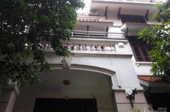 Cho thuê nhà mặt phố Nguyễn Thị Định 270m2, 3.5 tầng, lô góc 2 mặt tiền rộng, 2 gara, 1 bể bơi