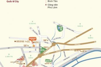 Chính chủ cần bán căn hộ kế Aeon Mall Bình Tân Moonlight Boulvar, 2PN, 68m2, LH 0931810994