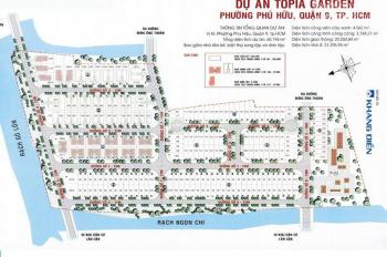 Bán đất nền Topia Khang Điền, quận 9, giá 33tr/m2. LH: 0904936779