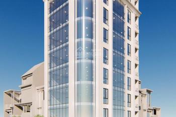 Bán tòa nhà 8 tầng mặt phố Phạm Tuấn Tài, sát ngã ba Hoàng Quốc Việt, DT từ tầng 2 170m2, MT 10m
