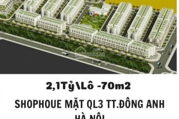 Dự án Happy Land Đông Anh - chỉ 2.1 tỷ/căn mặt đường Quốc Lộ 3 đã có sổ đỏ