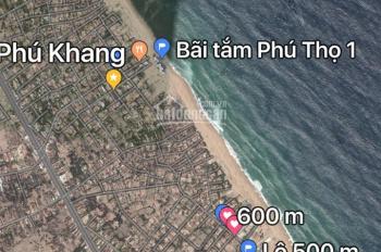 Chính chủ bán lô đất ven biển Phú Yên, lô 1092m2 (27x40)m, giá 9.5 triệu/m2. LH: 0911361968