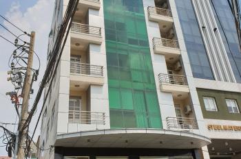 Tòa nhà VP 2 mặt tiền Ung Văn Khiêm P25 Q. Bình Thạnh 12x24m, H + 6L, giá 85 tỷ