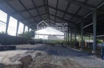 Cho thuê kho xưởng 2 mặt tiền đường, phường 7, Quận 8. DT 2.000m2, giá 50 nghìn/m2/tháng