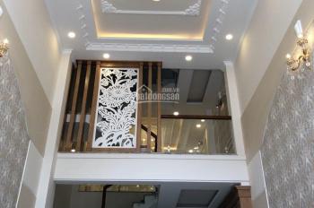 Bán nhà đối diện Aeon, MT đường Bờ Bao Tân Thắng, DT 5.7x20m, 1 lầu, sàn BTCT, giá 16.2 tỷ