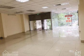 Cho thuê tầng 1, mặt tiền 8m, diện tích 120m2 tại mặt đường số 83 Nguyễn Ngọc Vũ, Cầu Giấy