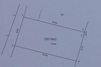 Chính chủ cần bán đất rộng 100.9m2 ở đường Lĩnh Nam, phường Vĩnh Hưng, Quận Hoàng Mai
