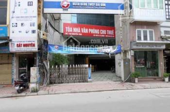 Cho thuê nhà mặt phố 148 Nguyễn Trãi mặt tiền 8m, rộng 200m2, 10 tầng (showroom, siêu thị, sàn VP